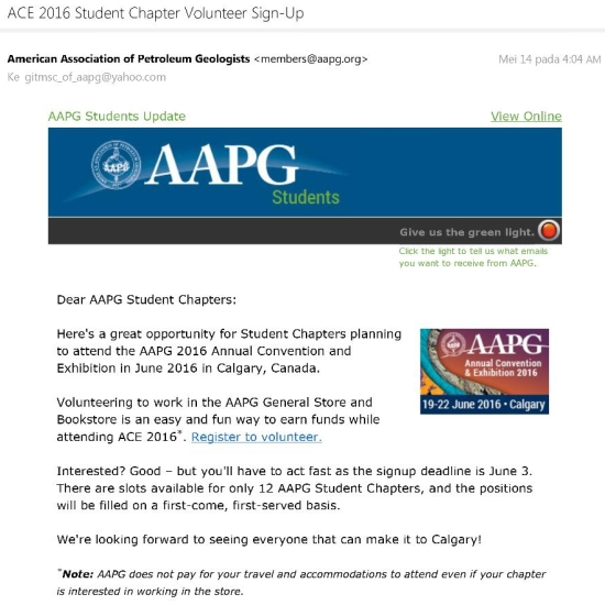 AAPG ACE 2016 Official